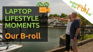 A Day in the Life of Online Entrepreneurs - Lifestyle Moments