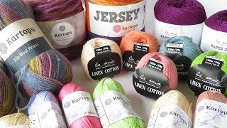 A new yarn stash share video for you guys today! This time for Hobium Yarns and their La Mia and Kartopu range! What ideas do you have for these yarns?