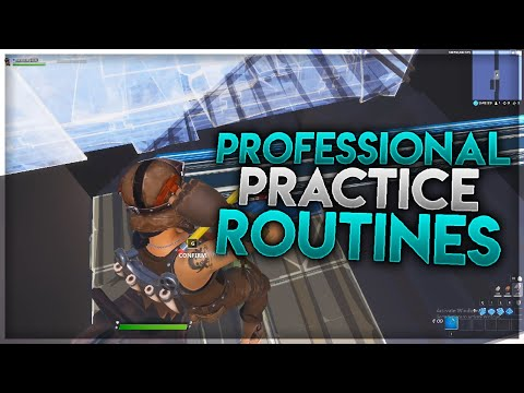 How Pro Players Practice Competitive Fortnite