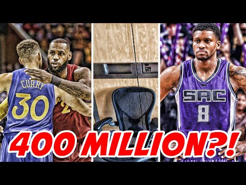 LEBRON JAMES SAYS STEPHEN CURRY IS WORTH $400 MILLION! RUDY GAY TO THUNDER LEAKED?!   NBA NEWS
