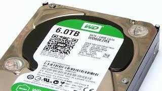 Six Terabyte Hard Drive