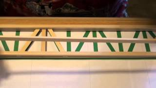 How To Make The Popsicle Railroad Bridge - Part 2