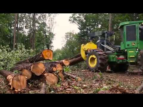John Deere Certified Pre-Owned Forestry Equipment