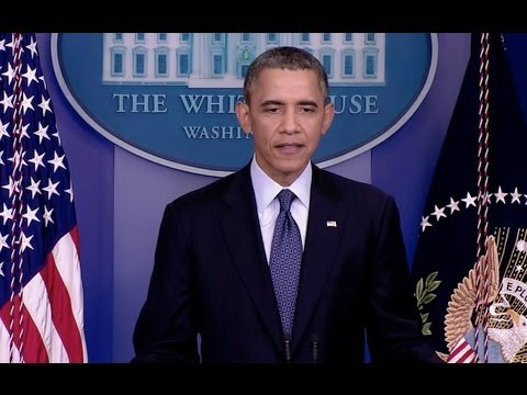 President Obama Delivers a Statement on the Government Shutdown