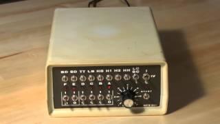 MFB 501 Drum Computer Demo