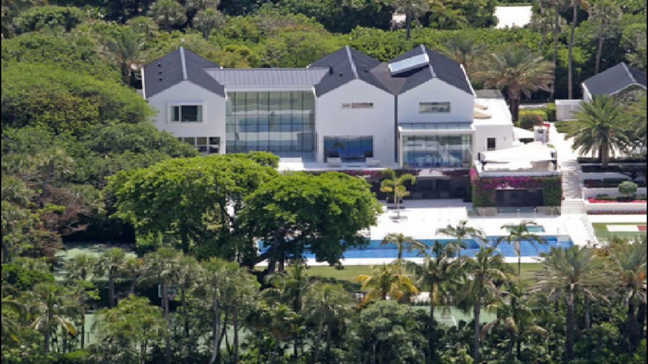 tiger woods - jupiter island mansion