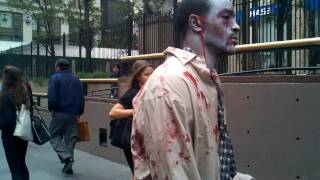 Repeat youtube video The Walking Dead Zombies Prank NYC!