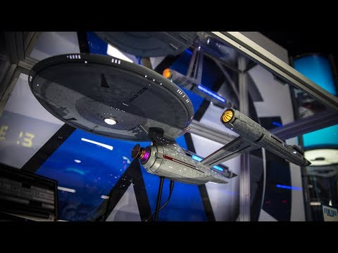 Studio-Scale Star Trek: Discovery Starship Models!