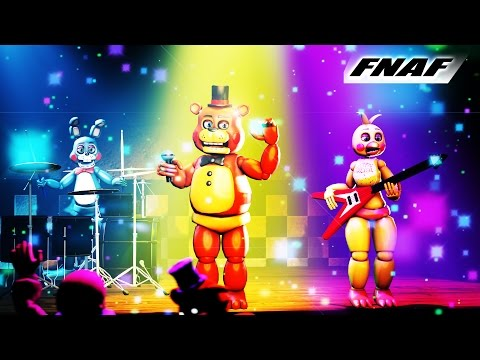 SFM FNAF Five Nights at Freddy's 2 Animated Music Video Living Tombstone Animated
