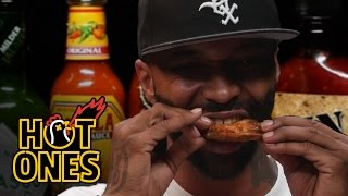 Joe Budden Keeps It Real While Eating Spicy Wings | Hot Ones thumbnail
