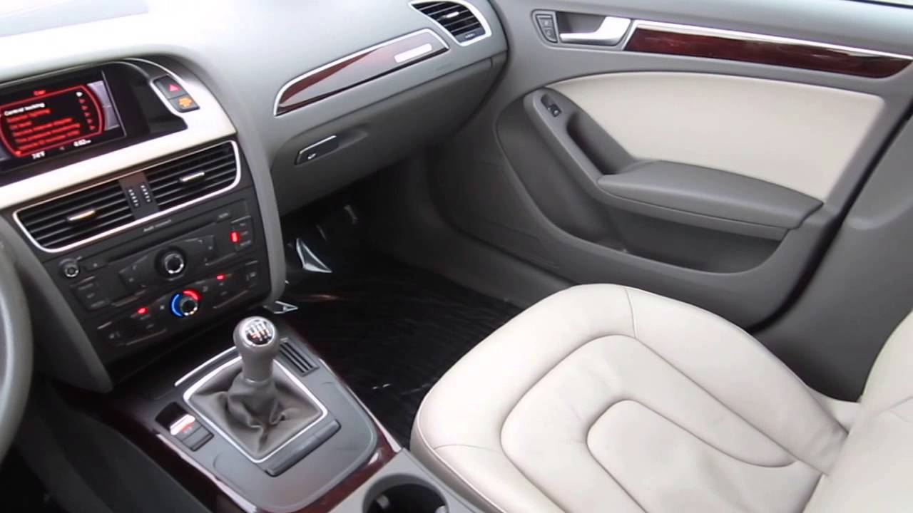 2010 audi a4 gray stock b2448 interior youtube. Black Bedroom Furniture Sets. Home Design Ideas