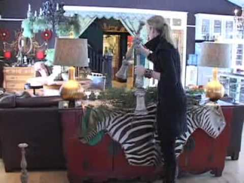 Tracy Porter Decorating Video.... Holiday Decorating Therapy