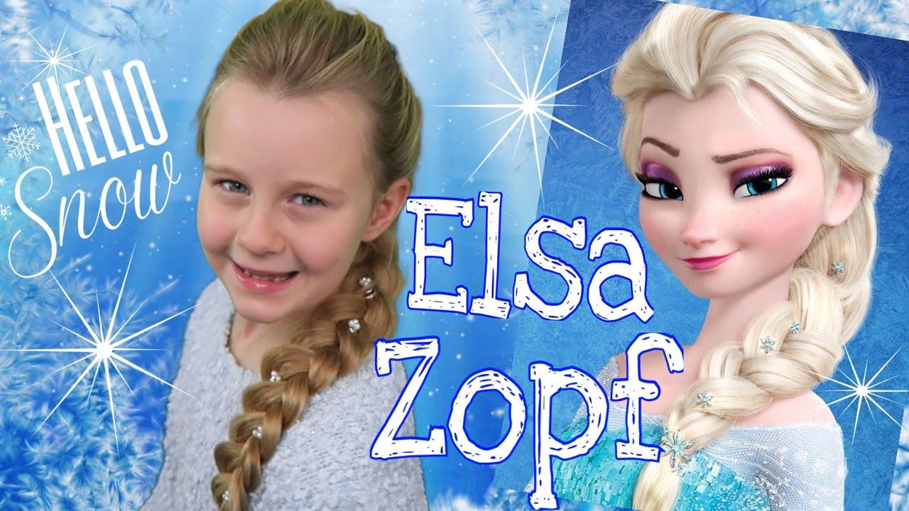 """ELSA'S ZOPF❄französischer""""Messy""""Zopf Aus Die Eiskönigin❄coole"""