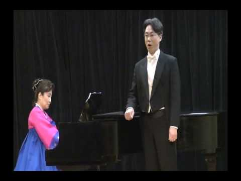 YOUNG MOON YU AT KOREAN SONG FESTIVAL IN BROOKLYN CONSERVATORY OF MUSIC