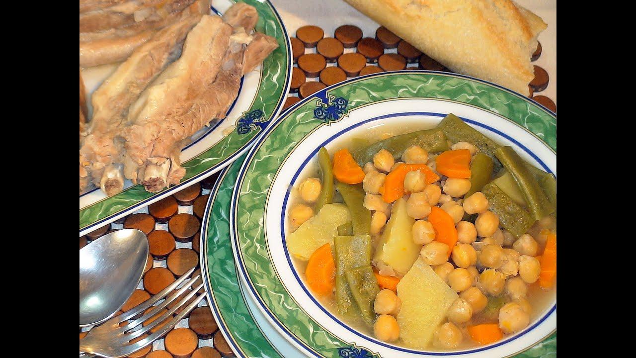 Cocinar Cocido | Receta De Cocido Al Estilo De Mi Abuela Recetas De Cocina Paso A