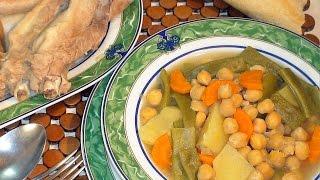 Receta de Cocido al estilo de mi abuela - Recetas de cocina, paso a paso, tutorial