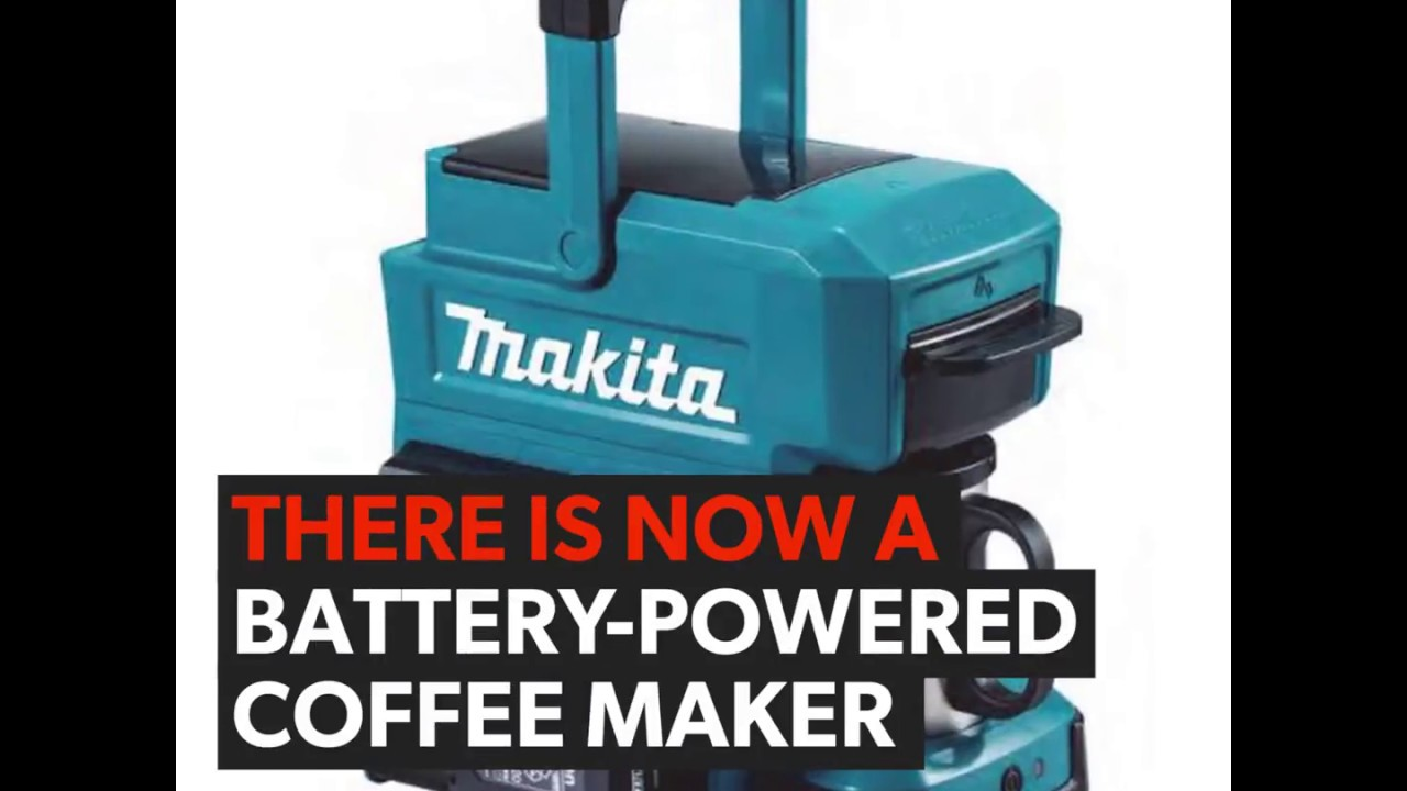 there is now a battery powered coffee maker youtube. Black Bedroom Furniture Sets. Home Design Ideas