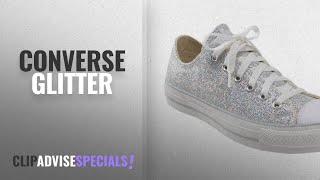 Top 5 Converse Glitter [2018]: Converse Chuck Taylor Silver Glitter Shoes 135851C (13)