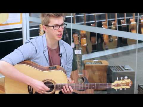 Maton W.A. May Custom Shop Acoustic guitar & AP5-Pro pickup Review and Demo | Better Music