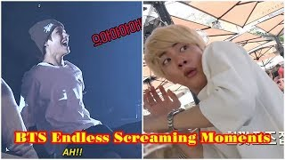 BTS Endless Screaming Moments (Let