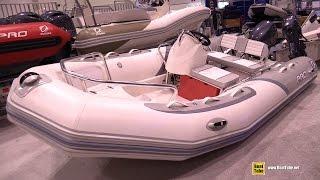 2015 Zodiac Bayrunner 380 Inflatable Boat - Walkaround - 2015 Toronto Boat Show
