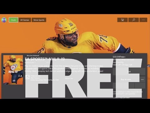 How To Download: EA SPORTS™ NHL® 19 For FREE In Xbox One | Xbox One S