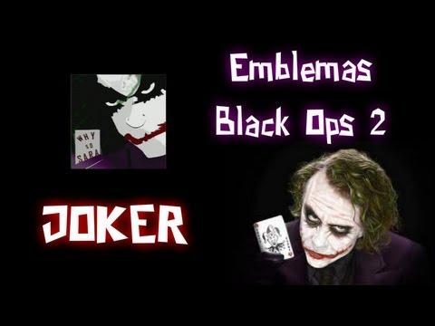 Emblemas Épicos Black Ops 2 - Joker (Dark Knight)