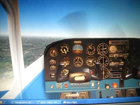 Meu simulador de voo em 3d youtube for Simulador de cocinas 3d