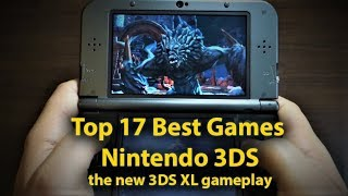 top 17 Best Games for Nintendo 3DS - the new 3DS XL gameplay