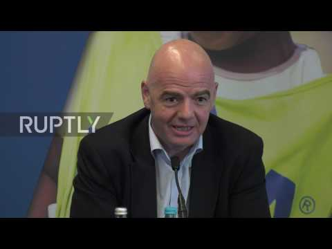 UK: FIFA President discusses impact of Trump's travel ban on global football