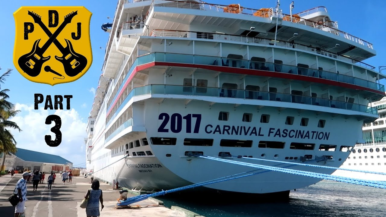 Carnival Fascination Cruise Vlog 2017 Part 3 More