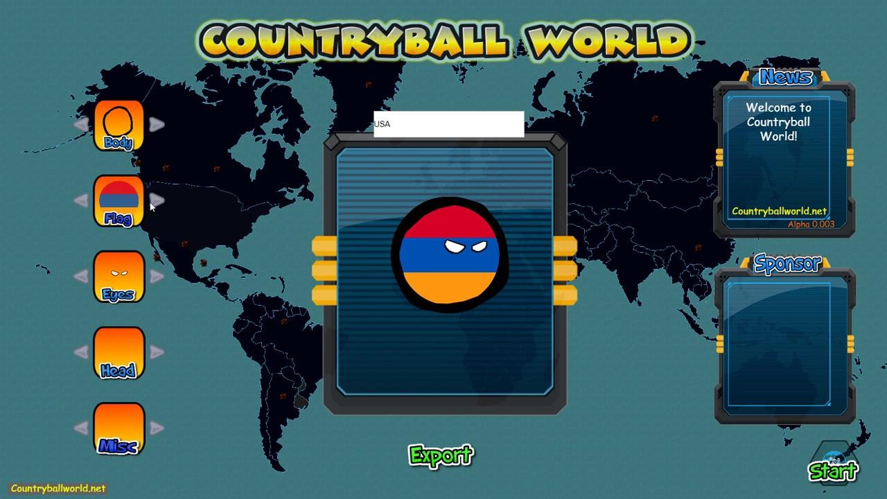 Countryball Comic Creator Posts Facebook