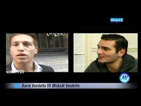 David Vendetta chez Morandini (Direct8).avi