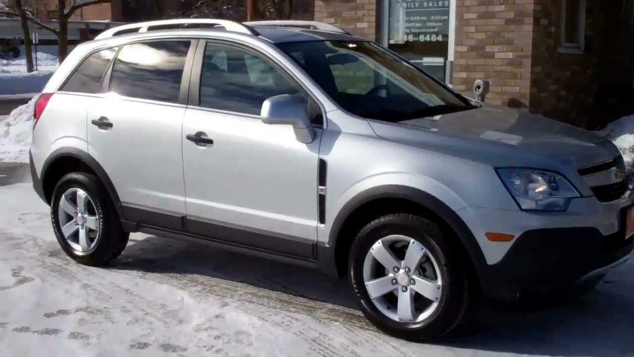 2012 Chevrolet Captiva Sport Ls W 2ls Youtube