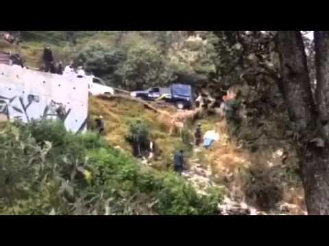#LaRoja Hallan cadáver de mujer en barranca de la Magdalena Contreras