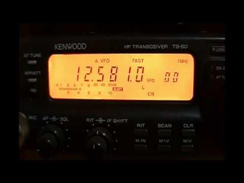 XSV Tianjin Radio (China) - 12581 kHz (CW)