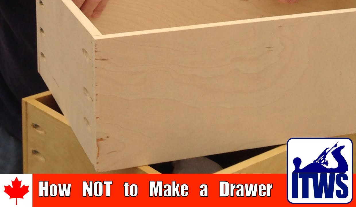 & How NOT to Make a Drawer - YouTube Aboutintivar.Com
