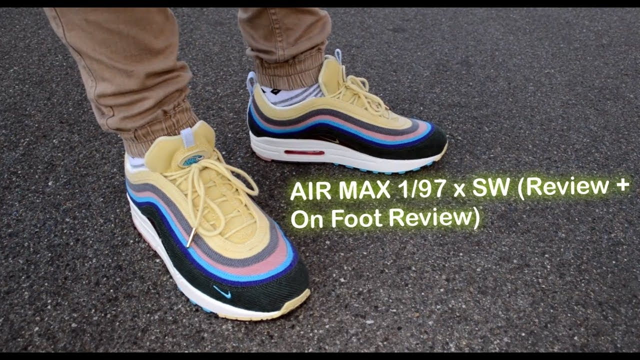 dd361df538041d SEAN WOTHERSPOON x AIR MAX 1 97 (REVIEW + ON FOOT REVIEW) - YouTube