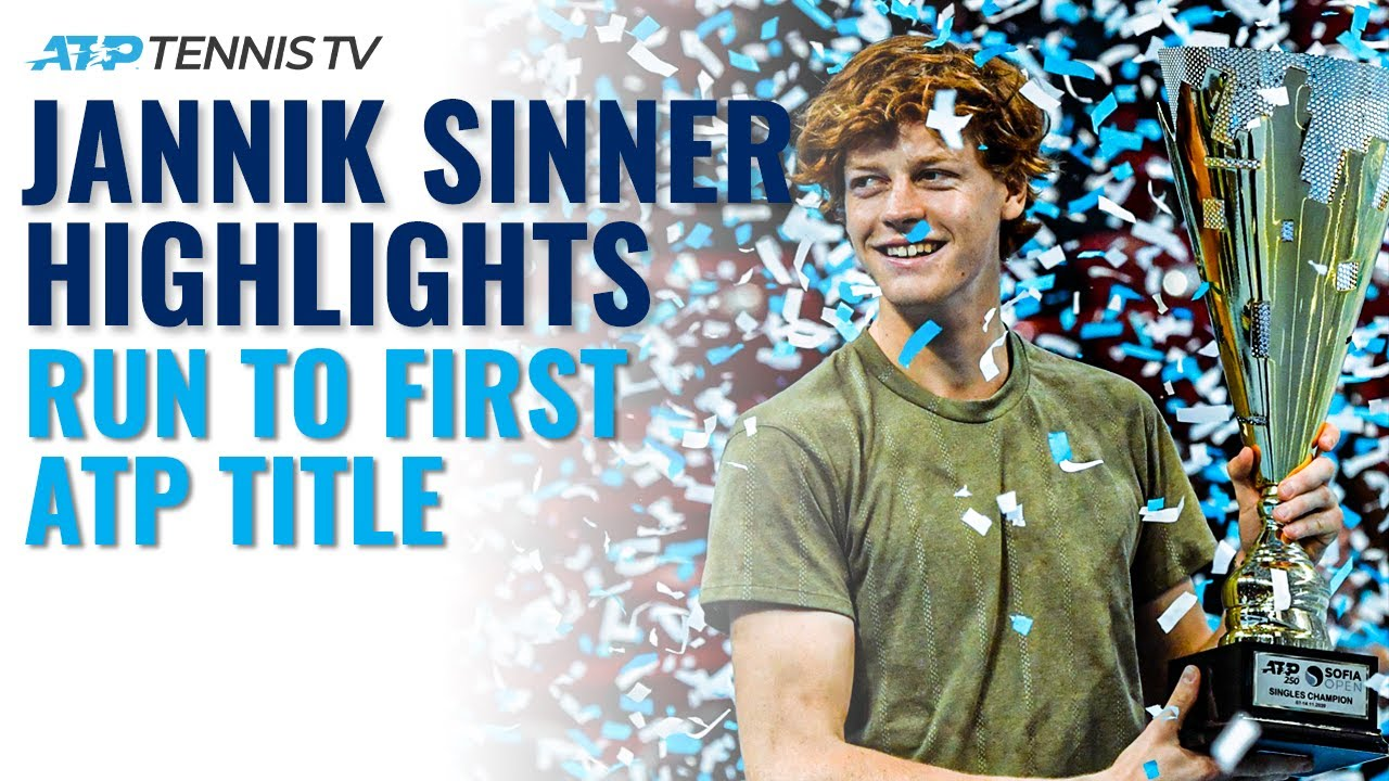 Jannik Sinner Best Shots & Moments in Run to First ATP title! | Sofia 2020