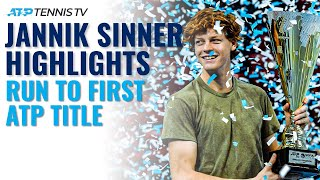 Jannik sinner became the youngest atp champion since kei nishikori as he won sofia title! subscribe to our channel for best tennis videos and ten...
