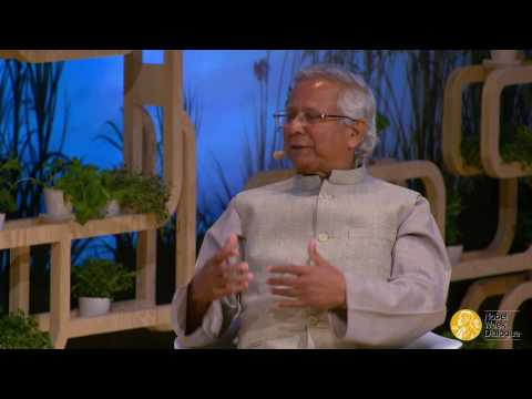"A discussion with Mohammad Yunus at the 2016 Nobel Week Dialogue ""Your Plate. Our Planet."""