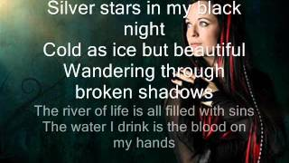 Xandria-Blood on my hands lyrics