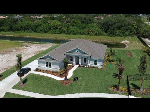 Heron Creek New Homes | Model Home Tour | Trudy w Study | N. Merritt Island, FL