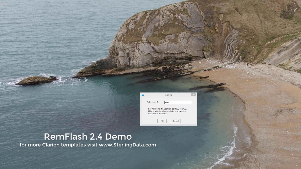 RemFlash Clarion Template Demo For Clarion Developers - YouTube