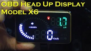 Car Head Up Display with Compa…
