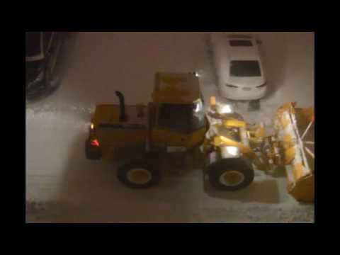 Montreal snowstorm and blizzard - March 14th-16th, 2017
