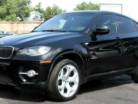 2009 Bmw X6 Xdrive35i Premium Amp Sport Package Black Black