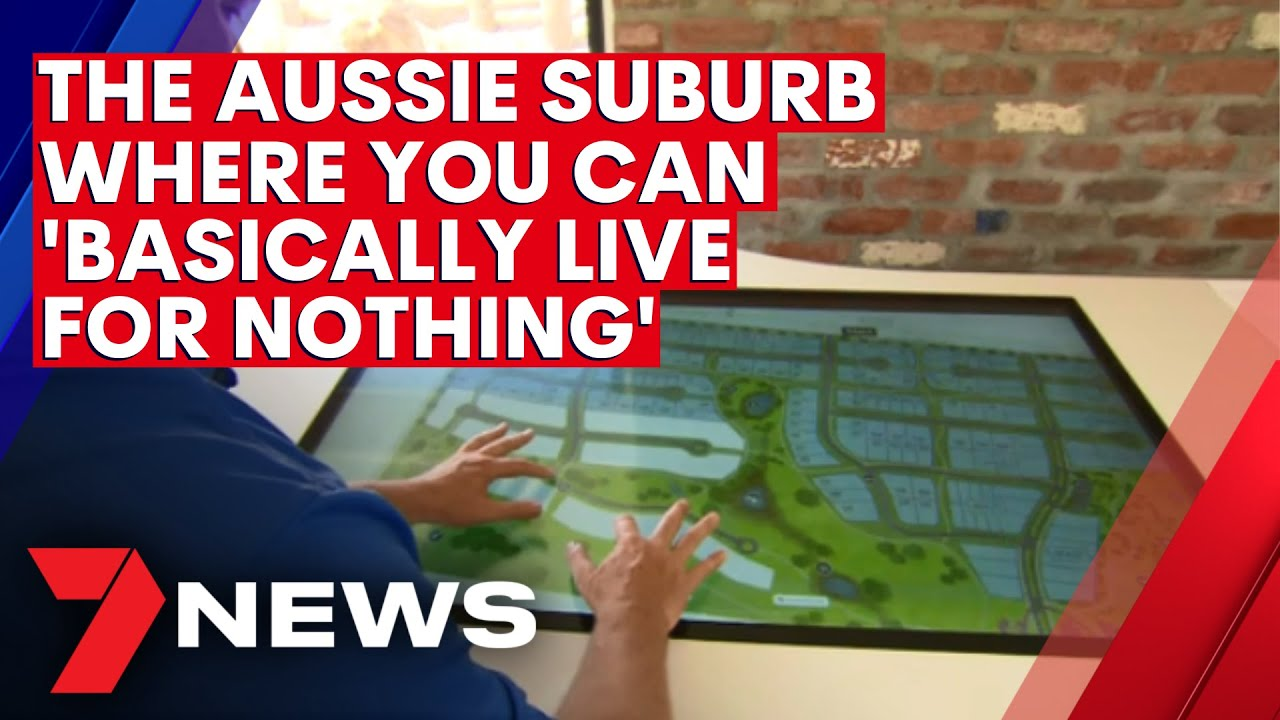 More Aussie families slashing their cost of living by moving to a suburb of the future | 7NEWS