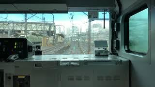 JR宇都宮線 上野〜尾久 前面展望【カシオペア信州も映っています】