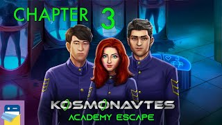 Kosmonavtes: Academy Escape - Chapter 3 Walkthrough Guide & iOS / Android Gameplay (by LKMAD)